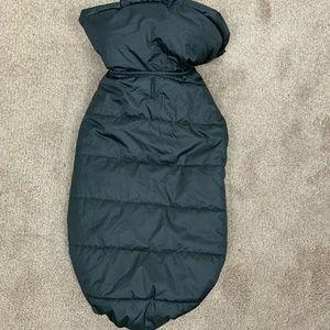 Dog Winter Coat Black Sz: L